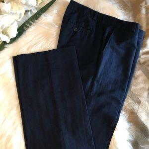 Blue Banana Republic Linen Pants Hampton Fit
